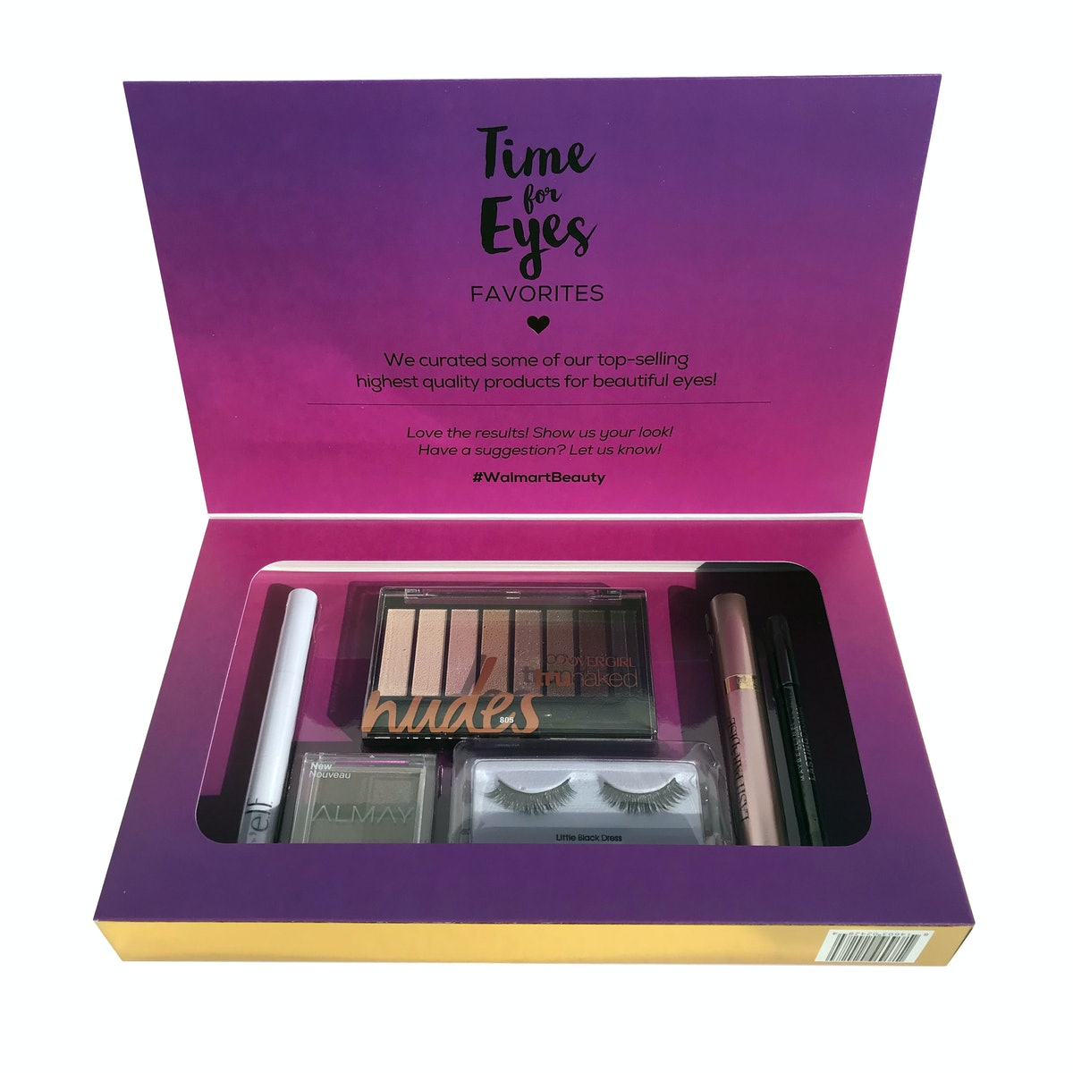 Walmart Beauty Favorites Box: Time For Eyes