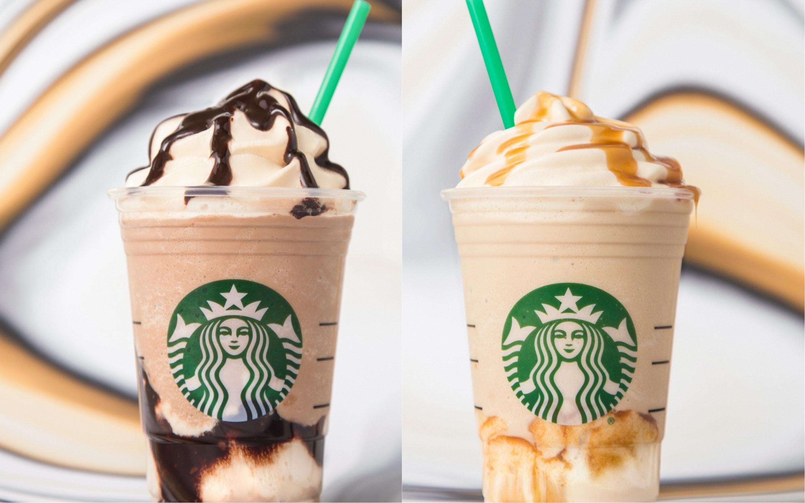 Ultra Caramel Frappuccino