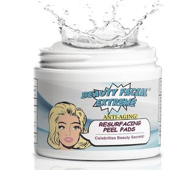 Beauty Facial Extreme Resurfacing Peel Pads