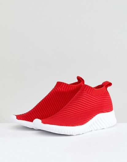 ASOS DARLINGTON Sock Sneakers
