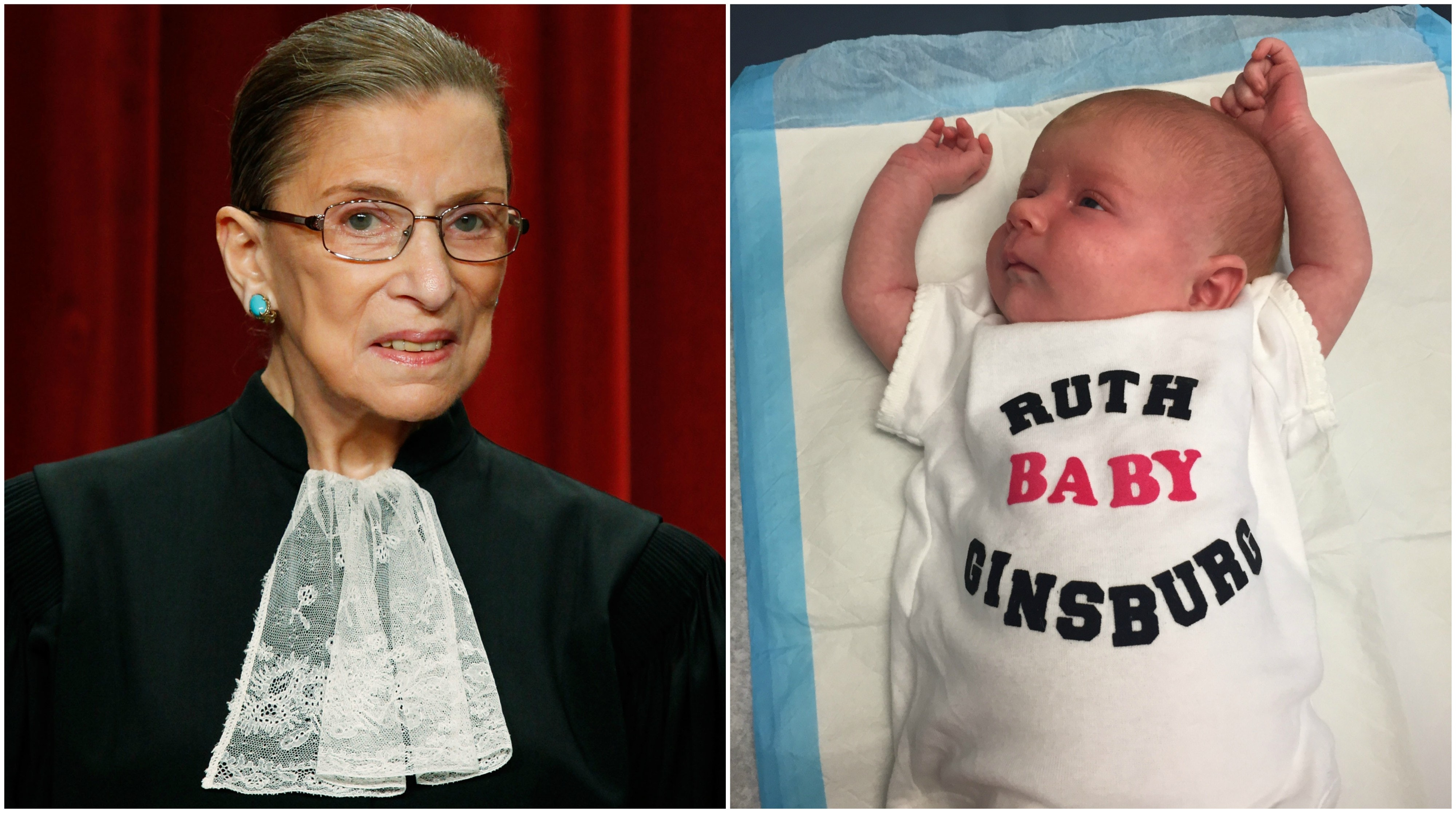 sc 1 st  Romper & Ruth Bader Ginsburg Is Now A Baby Costume u0026 A Parenting Philosophy