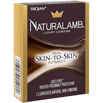 Trojan NATURALAMB Premium Lubricated Natural Lamb Skin Condoms