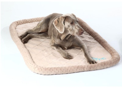 GoDog, Bed Bubble Bolster With Chew Guard Technology