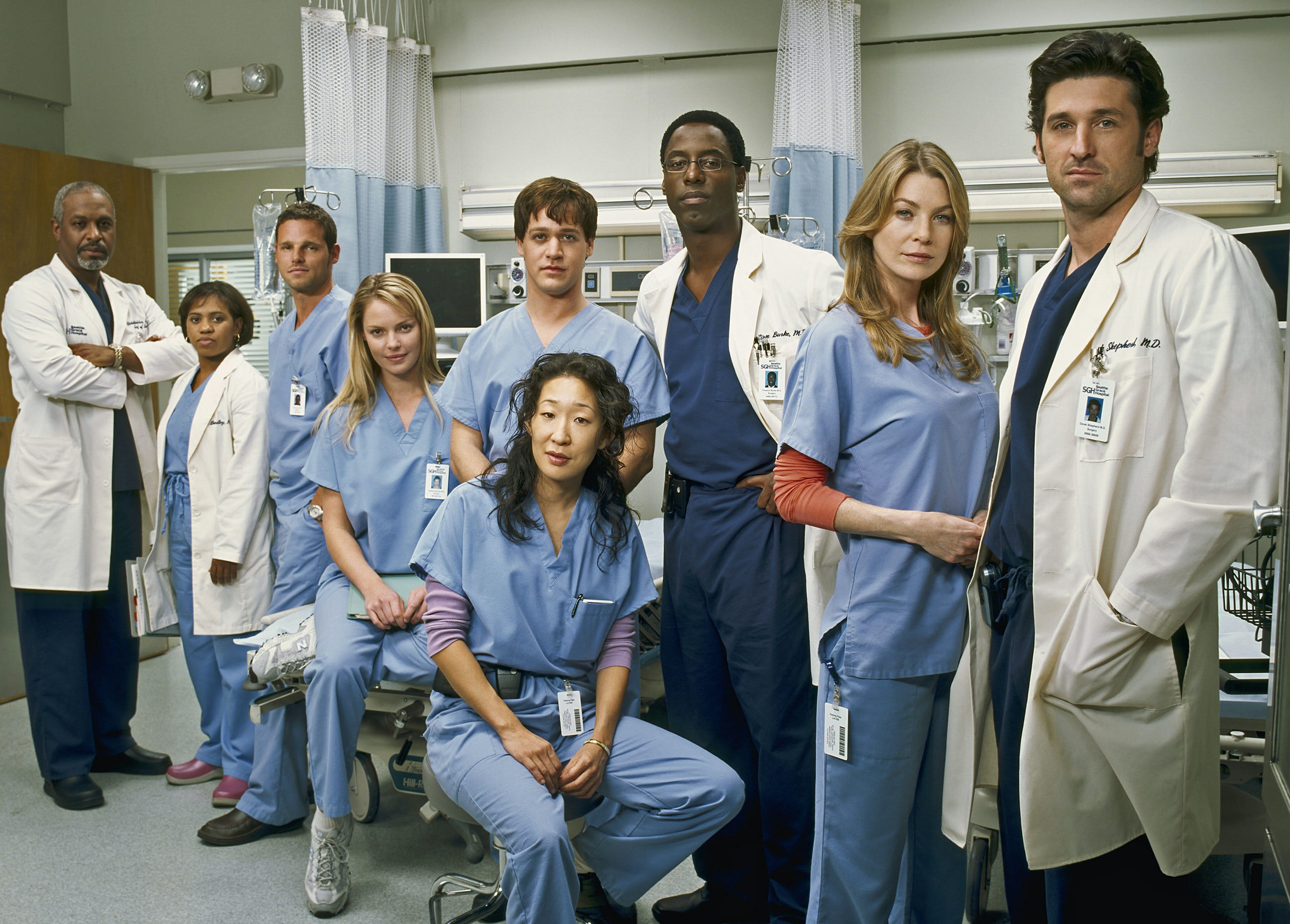 Heres What The Greys Anatomy Cast Looked Like When The Show