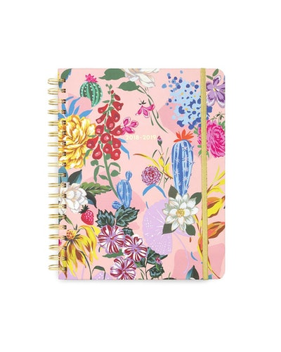 Large 13-Month Planner — Garden Party