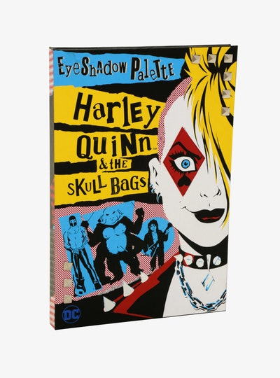 DC Comics Harley Quinn and the Skull Bags Eyeshadow Palette