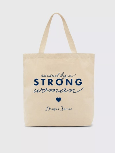 Raised By A Strong Woman Tote