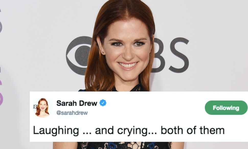 Sarah Drew Is Live-Tweeting Her \'Grey\'s Anatomy\' Accident Episode ...
