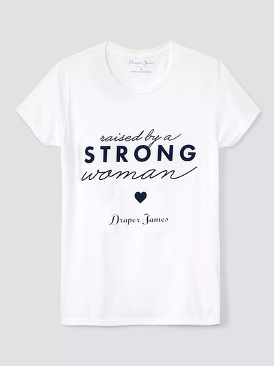 Raised By A Strong Woman Tee