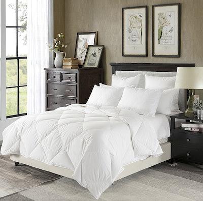 downluxe Lightweight Down Comforter