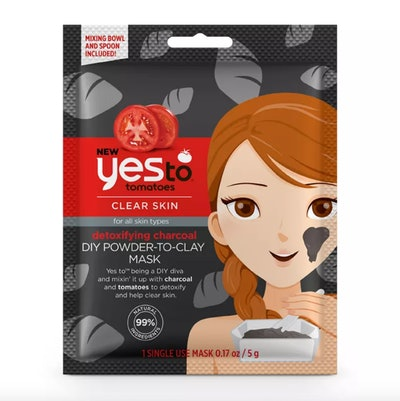 Yes To Tomatoes Detoxifying Charcoal DIY Powder-to-Clay Mask