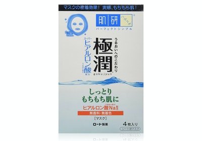 Hada Labo Rohto Goku-Jun Hyaluronic Facial Mask