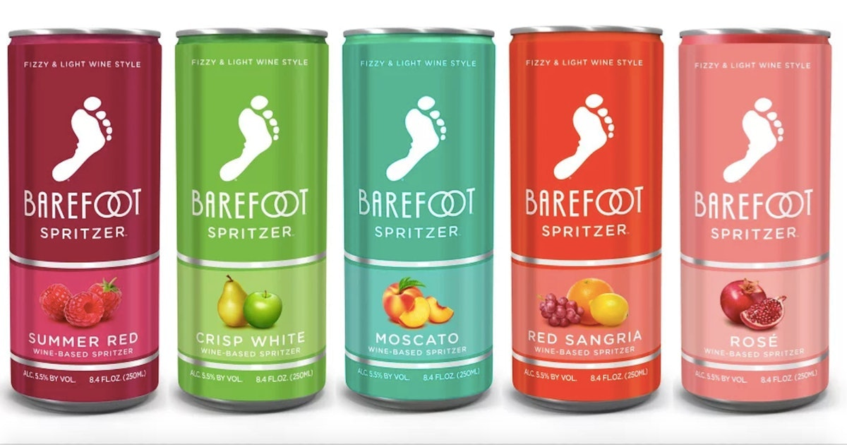 Heres Where To Buy Barefoots Canned Wine Spritzers If Youre Thirsty This Summer