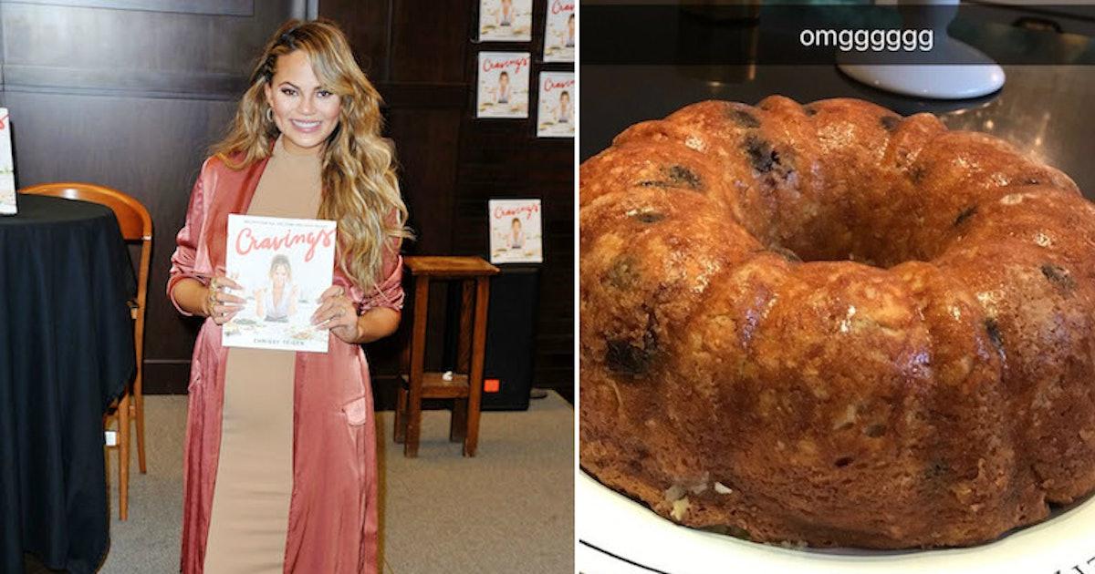 Chrissy Teigen's Banana Bread Recipe Is The Real Deal & I'm Still Not Over It
