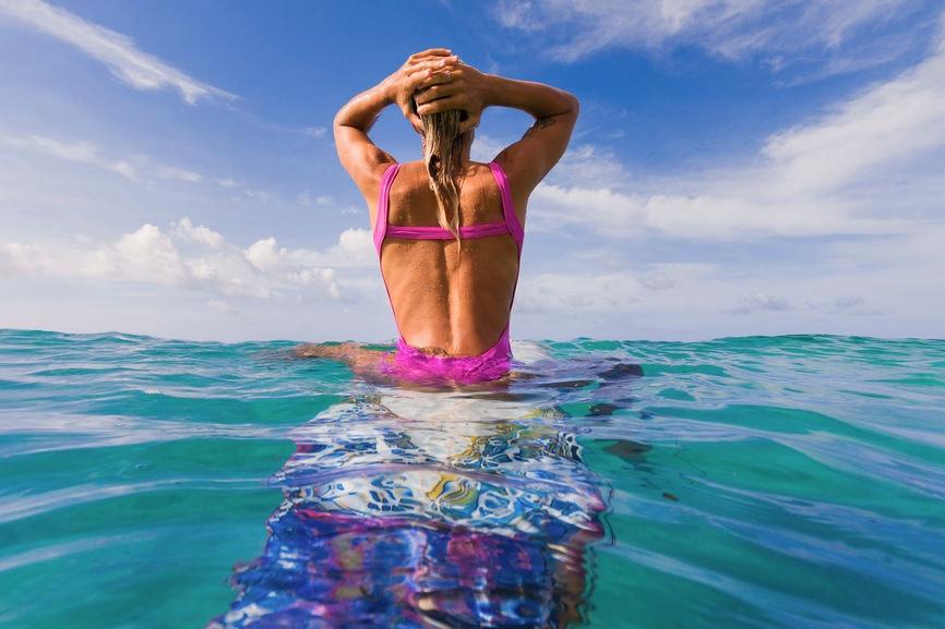 34 Instagram Captions For Beach Waves Salty Hair Flips