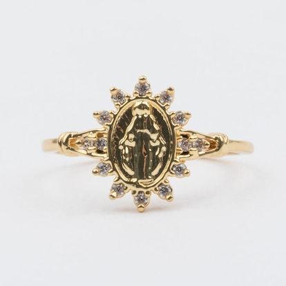 Morena Sacred Heart Ring