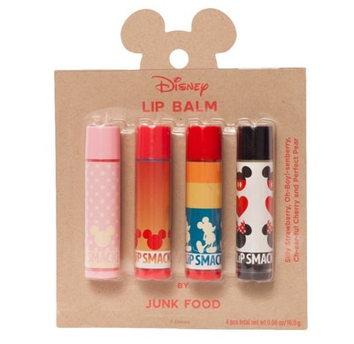Lip Smacker x Junk Food Mickey 4-Piece Lip Balm Set