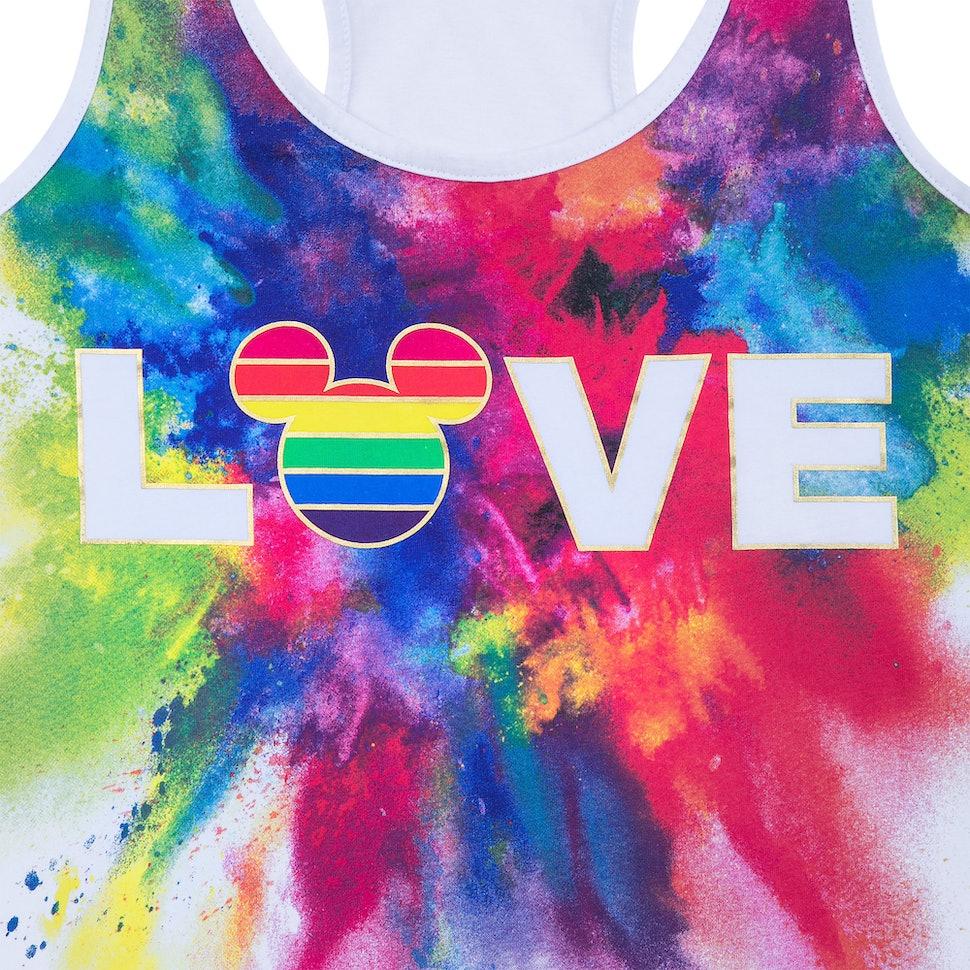 Resultado de imagen para rainbow love disney