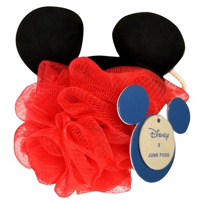 Junk Food x Disney Mickey Mouse Bath Pouf