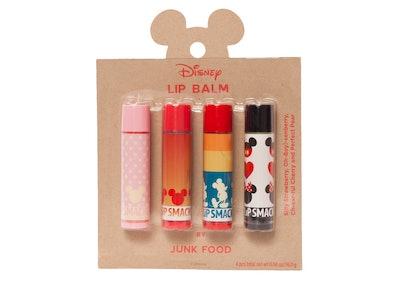Junk Food Mickey 4 Piece Lip Balm Set 81244 made by Lip Smacker