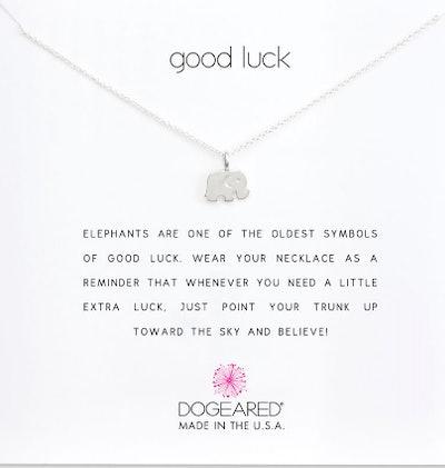 Good Luck Elephant Charm Necklace
