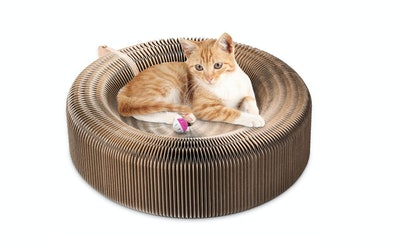 YOUTHINK Collapsible Cat Scratcher