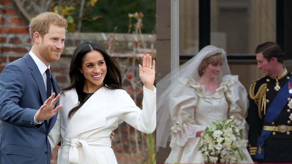 Charles And Diana Wedding.6 Differences Between The 2018 Royal Wedding Princess Diana S