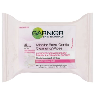 Garnier Micellar Extra Gentle Cleansing Wipes