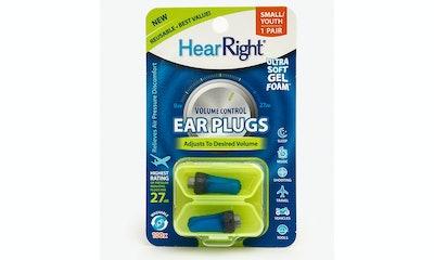 SleepRight, HearRight Volume Control Earplugs