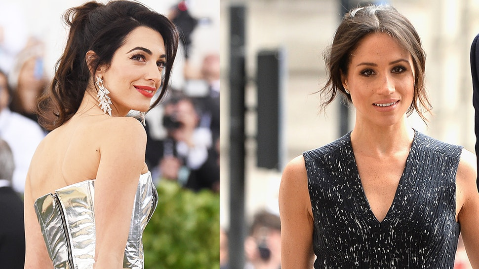 Is Meghan Markle Friends With Amal Clooney? The 2018 Royal