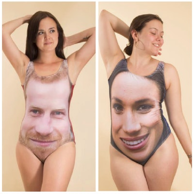 Harry or Meghan Swimsuits