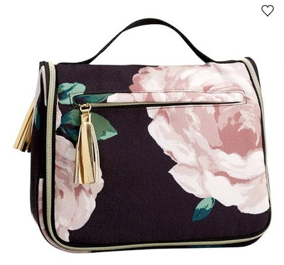 The Emily & Meritt Floral Ultimate Hanging Toiletry Case