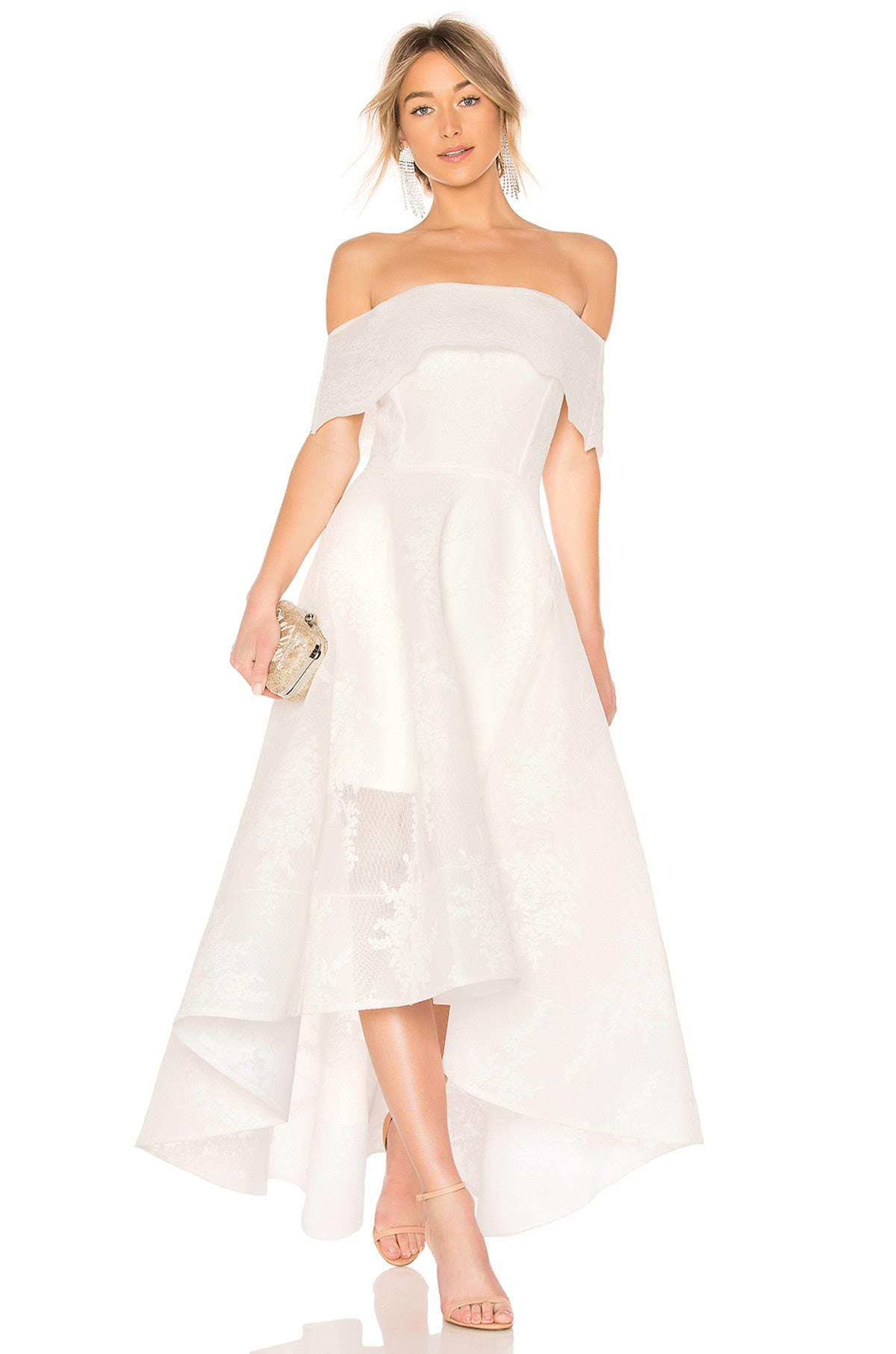 Bronx and Banco Tulip Lace Gown