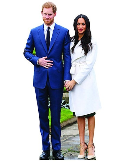 Prince Harry and Meghan Markle Life-Sized Cutout Standup
