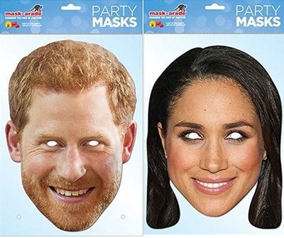 Prince Harry & Meghan Markle Face Mask Royal Wedding Pack