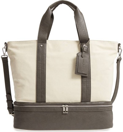 Canvas Overnight Tote by Sole Society
