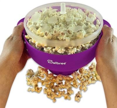 The Original Salbree Microwave Popcorn Popper