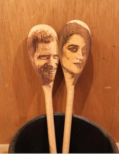 Harry & Meghan Wooden Spoons