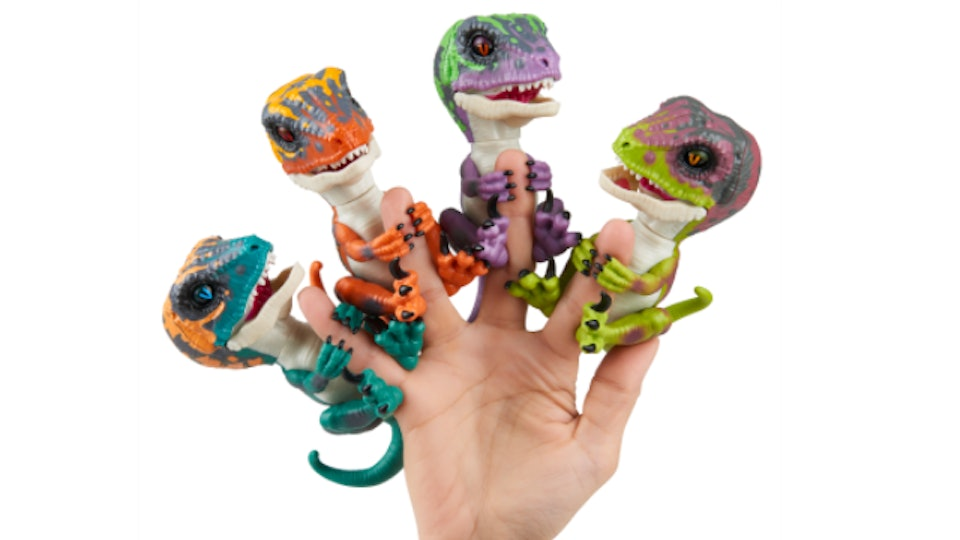 Where To Dinosaur Fingerlings Because They Re Finally Available In The U S