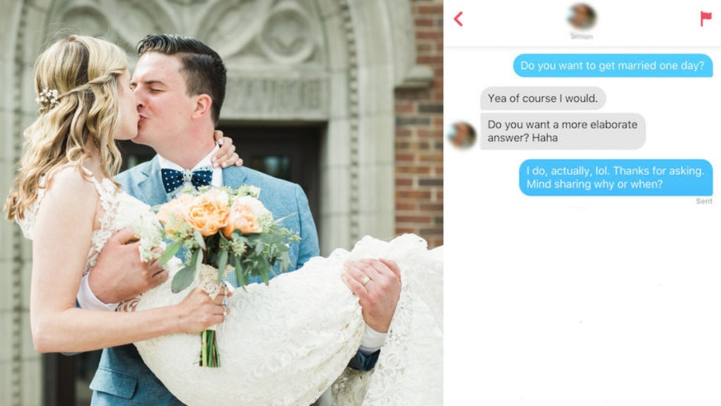 I Asked My Tinder Matches If They Wanted To Get Married