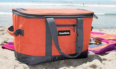 CleverMade SnapBasket 50 Can, Soft-Sided Collapsible Cooler