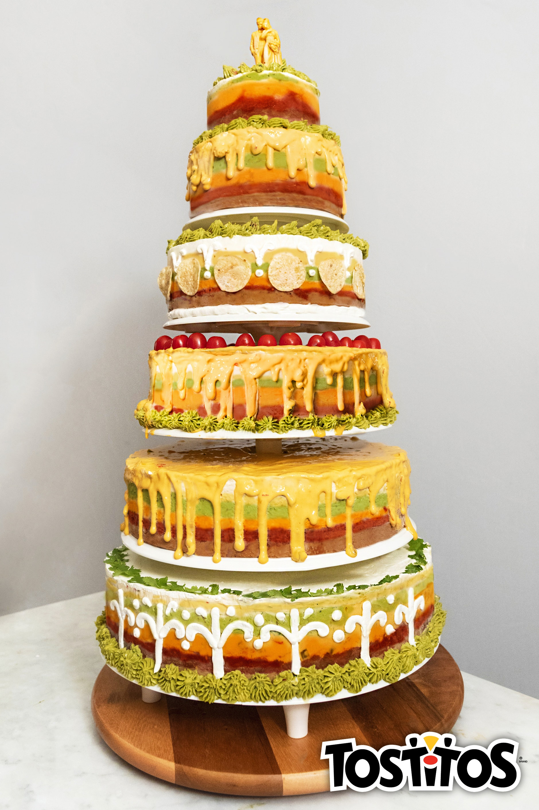 How To Make A Tostitos Wedding Cake For Meghan Markle & Prince ...