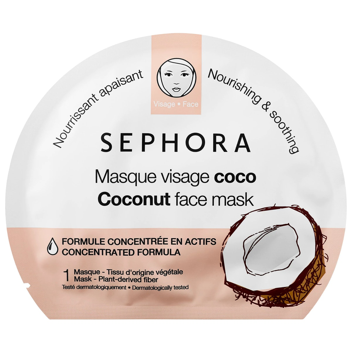 SEPHORA COLLECTION Face Mask - Coconut