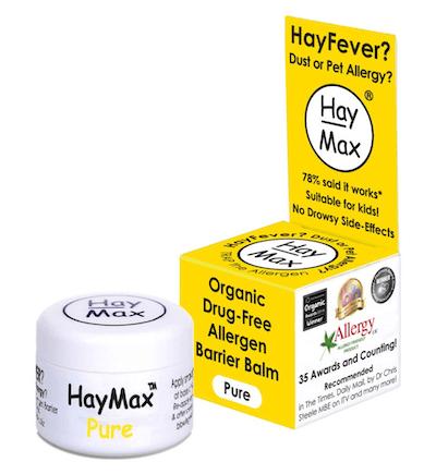 HayMax Pure Organic Drug-Free Allergen Barrier Balm