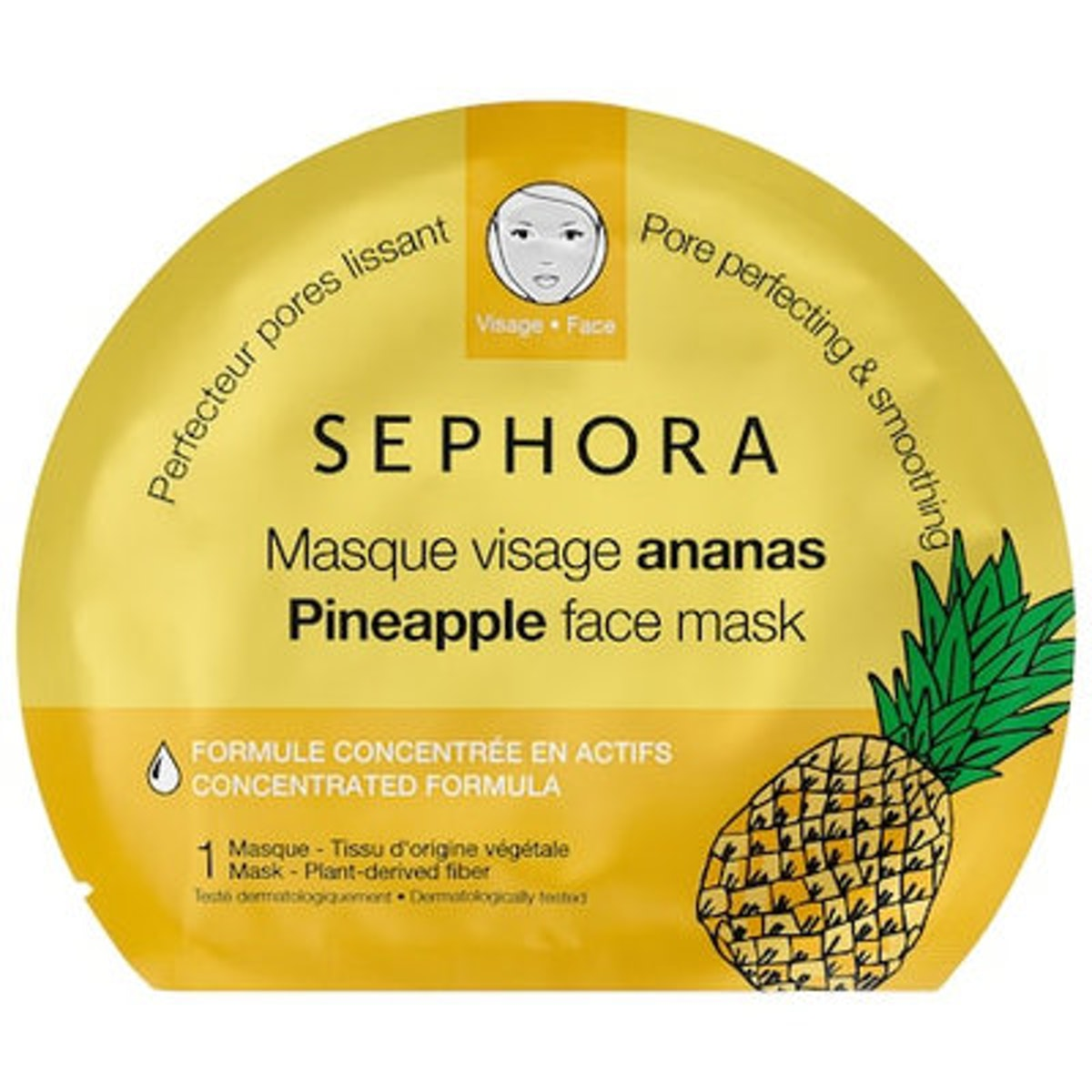 SEPHORA COLLECTION Face Mask - Pineapple