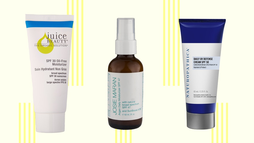 The 5 Best Organic Moisturizers With SPF