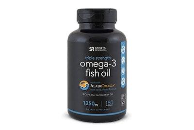 AlaskOmega Omega-3 Wild Alaskan Fish Oil