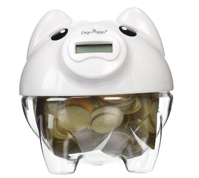 Digi-Piggy Digital Coin Counting Bank