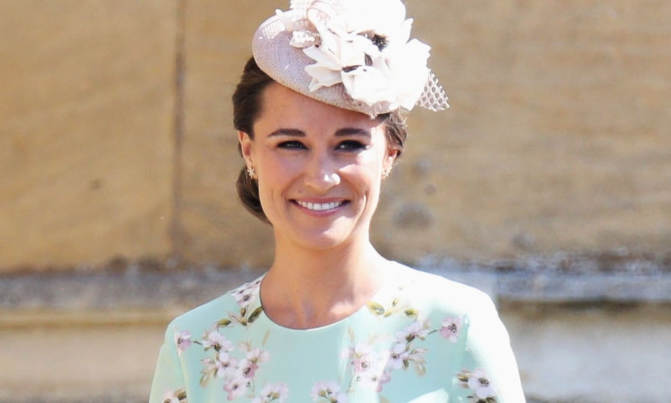 Pippa Middleton S Dress At The 2018 Royal Wedding Was Fl Feminine Perfect For Day