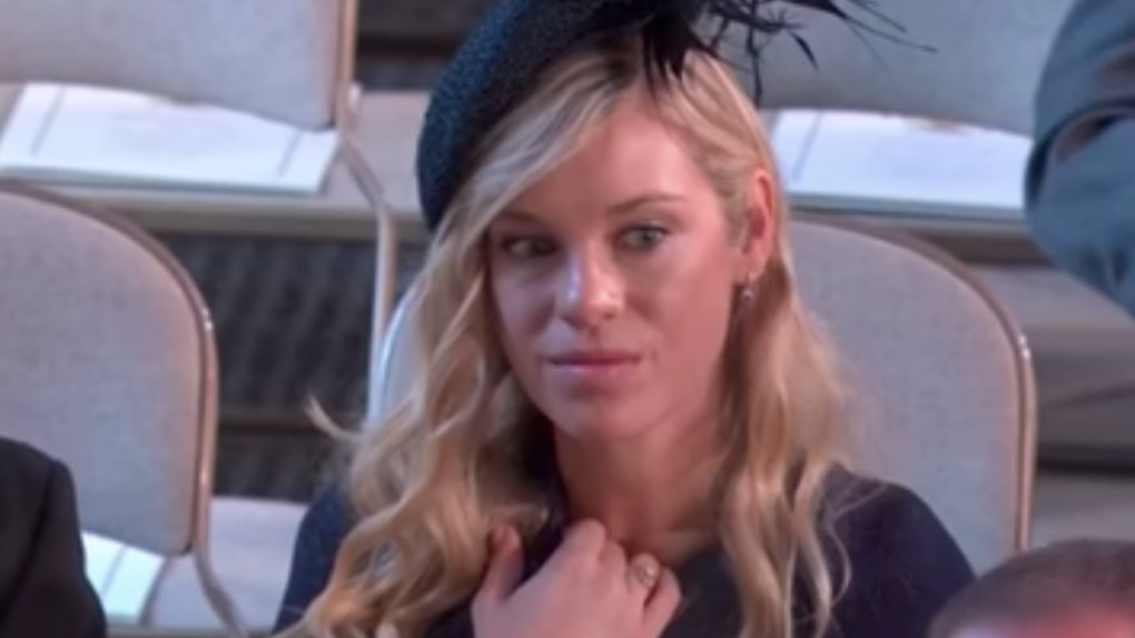 Prince Harry Ex Girlfriend Wedding.Chelsy Davy S Royal Wedding Memes Will Make You Sigh Say Same
